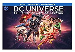 DC Universe 10th Anniversary Collection, 30-Movies [Blu-ray]