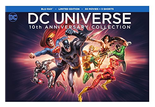 Best dc universe 10 year movie collection list