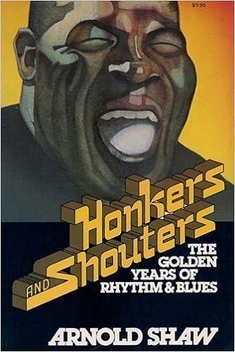 Resultado de imagen para honkers and shouters arnold shaw