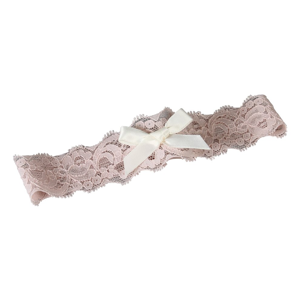 Ivy Lane Design Garter, Large, Layla Lace, Pink and Ivory A91538PNK/IVO/LG