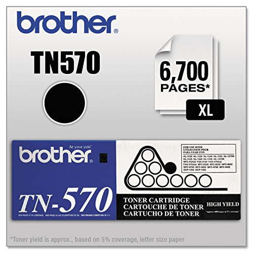 Brother BRTTN570 TN570 High Yield Toner