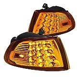 95 civic ex back bumper - Fit Honda Civic 2Dr/3Dr EG EH Amber LED Turn Signal Corner Lights Left+Right