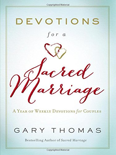 Devotions Sacred Marriage Weekly Couples product image