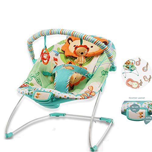 LYXCM Baby Swing Chair,Music Shake Rocking Chair,Floor Seat, Portable Baby Chair Or Seat with Removable, Toy by LYXCM