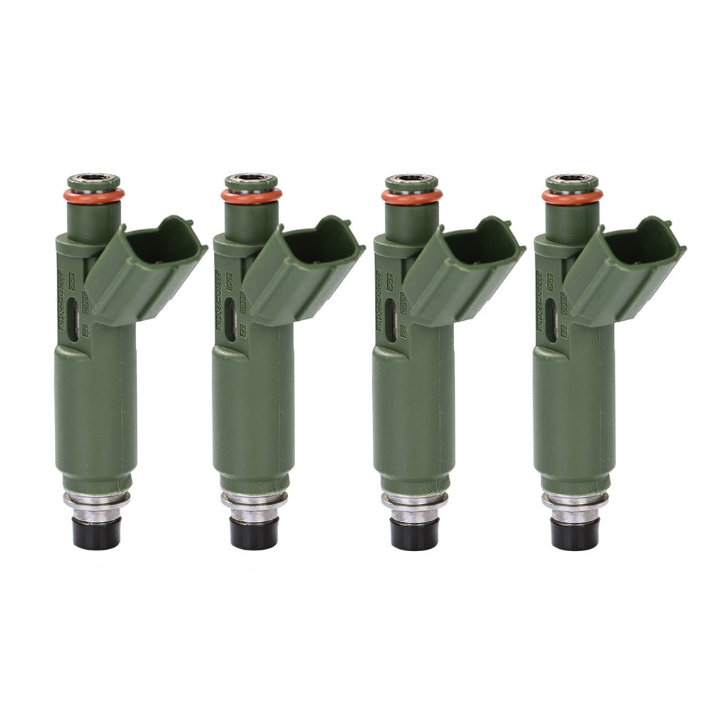 Catinbow 23250-22040 4PCS Engine Fuel Injector Set for Toyota Chevy Prizm Matrix Corolla 1.8L