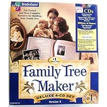 Family Tree Maker Version 5 Deluxe 4 Cd Set