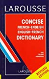 Larousse Concise French-English, English-French Dictionary, , 2034203011