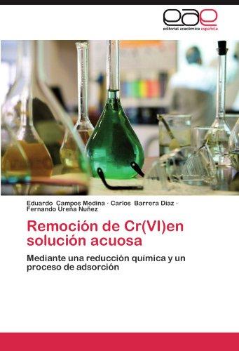 Remoción de Cr(VI)en solución acuosa: Mediante una reducción química y un proceso de adsorción (Spanish Edition)