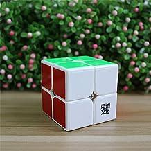 Elloapic MoYu TangPo 2x2x2 Speed Cube, 2 Layer Magic Cube Puzzle Cube White + One MoYu Cube Bag