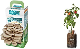 product image for Back to the Roots Organic Mushroom Growing Kit + Grow Your Own Organic Cherry Tomato Self-Watering Planter