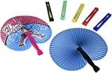 Rhode Island Novelty 097138731548 Folding Fan Assortment (4 Dz)