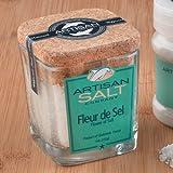 Artisan Fleur De Sel Cork Jar