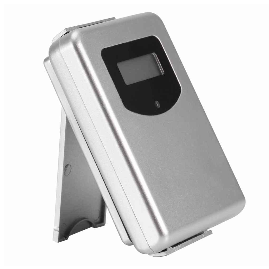 Laileya Estació n 433MHz Digital termó metro higró metro humedad Wireless Sensor tiempo con Pronó stico de la Temperature