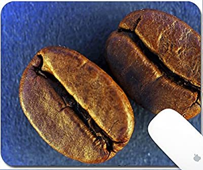 Luxlady Gaming Mousepad A studio shot series related to coffee roasted beans with various cups and different backgrounds 9.25in X 7.25in IMAGE: 3680759
