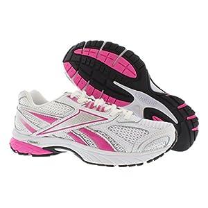 Reebok Footwear Womens Pheehan Running Shoe,Pink Ribbon/White/Dynamic Pink/Steel/Black,5 D US