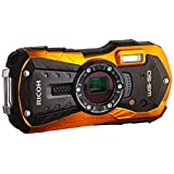 RICOH WG-50 Waterproof Still/Video Camera Digital, Orange