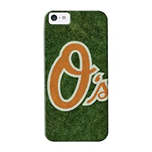 Fashionable Style Case Cover Skin Series For Iphone 5c- Baltimore Orioles