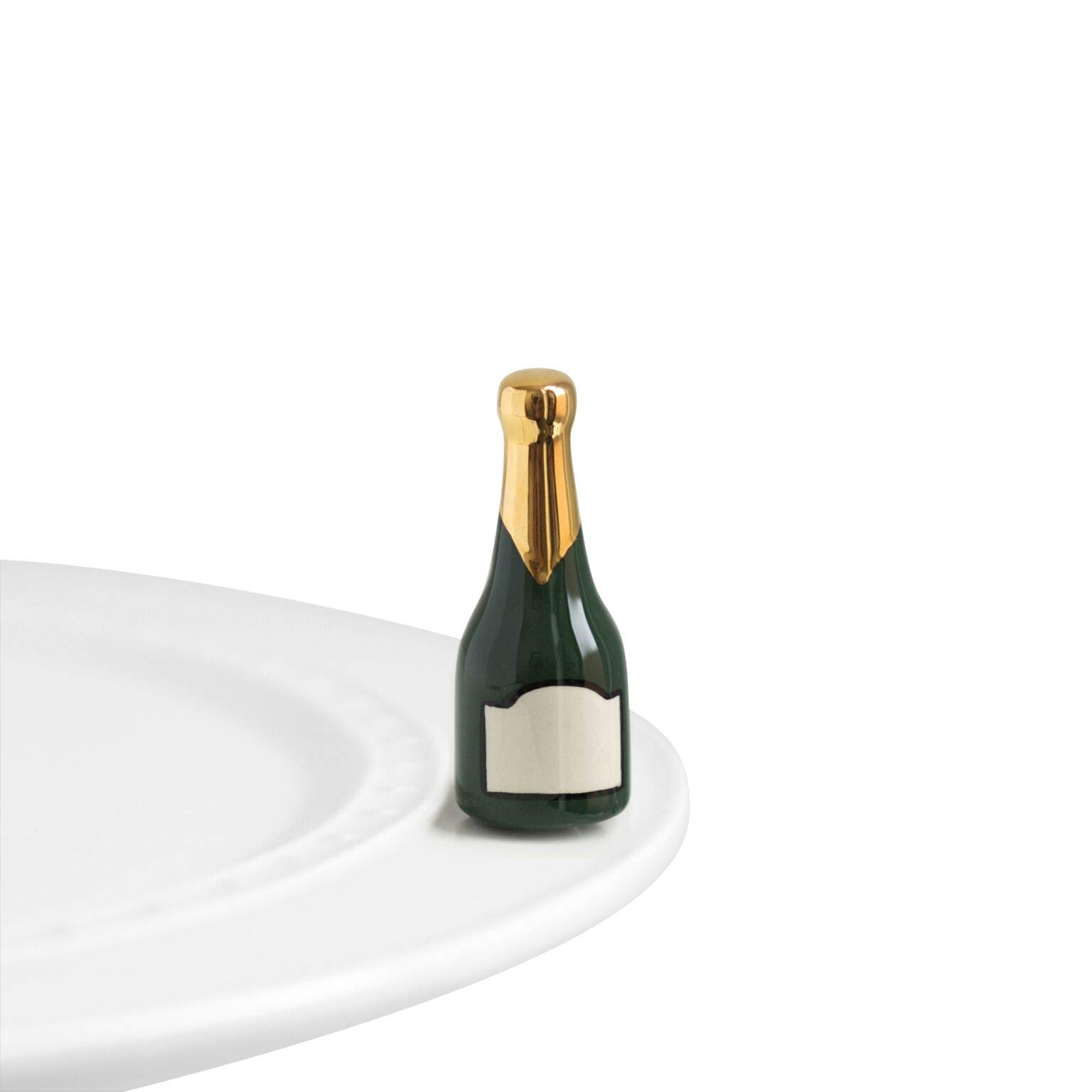 Nora Fleming Hand-Painted Mini: Champagne Celebration (Champagne) A94