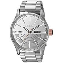 Nixon Men's 'Star Wars Phasma' Quartz Stainless Steel Casual Watch, Color:Silver-Toned (Model: A356SW2445-00)