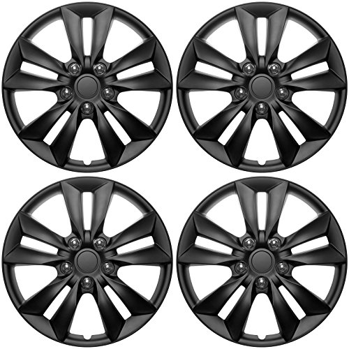 16 hubcaps black - 3