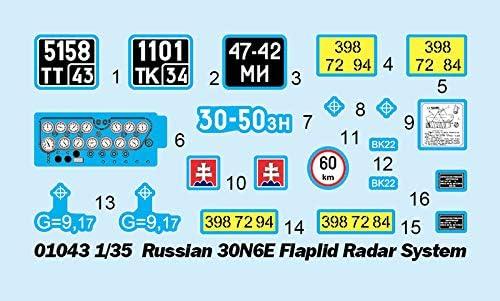 Neu Trumpeter 01043-1:35 Russian 30N6E Flaplid Radar System