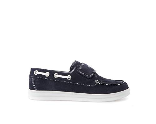 Zapatos de cordones para ni�o, color Rojo , marca GEOX, modelo Zapatos De Cordones Para Ni�o GEOX J ANTHOR BOY Rojo