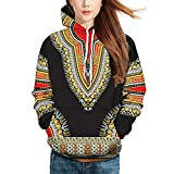 Corriee Fashion Tops for Men Women 2018 Lovers Autumn Ethnic Style 3D Print Long Sleeve Hoodies Casual Hooded Sweater
