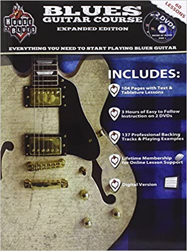House Of Blues Blues Guitar Course Expanded Edition John Mccarthy