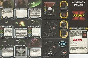 Star Trek Attack Wing Klingon Civil War Storyline Op Kit 2 Prize Pack