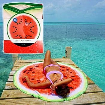 Mainstay Watermelon Round Beach Towel