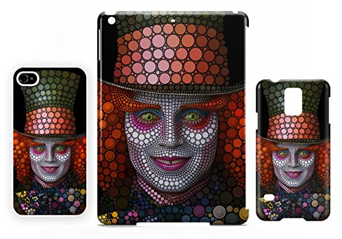 Mad Hatter johnny Depp iPhone 7 cellulaire cas coque de téléphone cas, couverture de téléphone portable