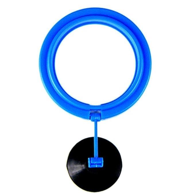 Depory 1 alimentador de Peces Cuadrado Circular Anillo Flotante de plástico con Ventosa para Acuario pecera Accesorios: Amazon.es: Productos para mascotas