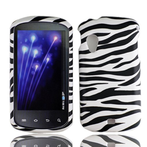 Samsung Phone Faceplates - For Verizon Samsung I405 Stratosphere Accessory - Zebra Design Hard Case Proctor Cover + Lf Stylus Pen