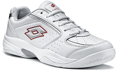 Lotto Court Logo Iii N1052 Homme Chaussures Tennis Blanc
