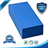 SAUGWUNDER Big Cleaning Sponge Super Absorbent Water Thicken 17.5×7.5×3.5 cm Suction-Block Use for Household Car Wash Boots Shoes and Industry Clean dust and Dirt Furniture Bathtub Bathroom (Blue)