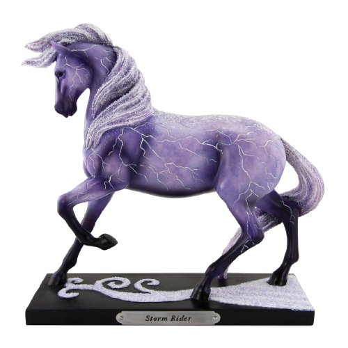"- Enesco Trail of Painted Ponies ""Storm Rider"" Stone Resin Horse Figurine, 7"""