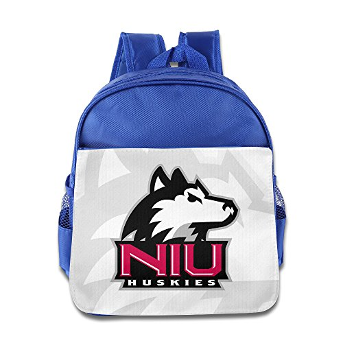 Price comparison product image BestGifts Custom Cool Northern Illinois University Children School Bagpack Bag For 1-6 Years Old RoyalBlue