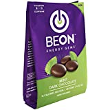 BeON Energy Boost Gems (Energems), Mint Chocolate 133 mg Caffeine & B6 B12 D-Vitamins Per Serving, 1 Coffee Bag w/48 mint chocolate gems