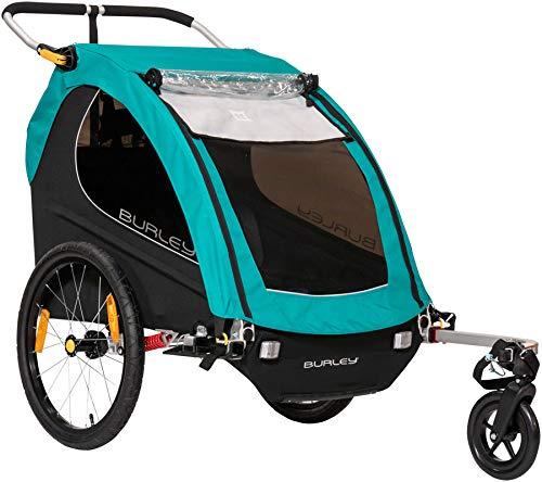 Burley Encore X, 2 Seat Kids Bike Trailer & Stroller (Best Bike Trailers 2019)
