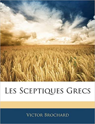 Book Les Sceptiques Grecs (French Edition)