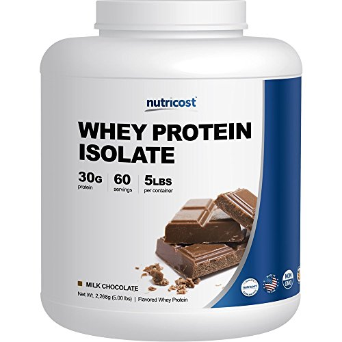 Nutricost Whey Protein Isolate Powder (Milk Chocolate) 5LBS