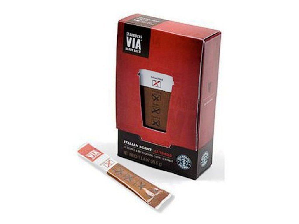 Starbucks VIA® Ready Brew Italian Roast Coffee (50 count) SBK11008130