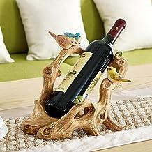 Wine cabinet decoration ornaments european living room home furnishings xuan guan crafts bird wine rack decoration-log