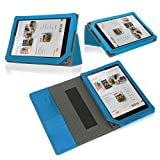 Poetic Slimbook Case for Barnes and Noble Nook HD 9 Blue (3 Year Manufacturer Warranty From Poetic), Best Gadgets