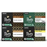 Peet's Coffee Dark, Medium, & Light Roast Variety Pack K-Cup Coffee Pods for Keurig Brewers, Variety Pack, 40 Pods