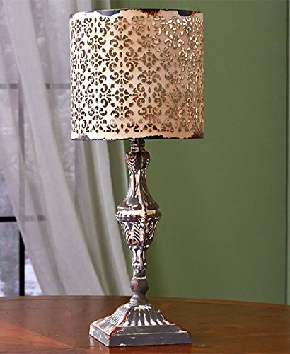 """Price comparison product image Metal Table Lamp Candle Holder by Home Star Innovations (19-1 / 2"""" Lamp)"""