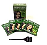 Black Rose Kali Mehandi 30 Sachets of 10 gm Each With Free Nexxa Hair Dye Brush