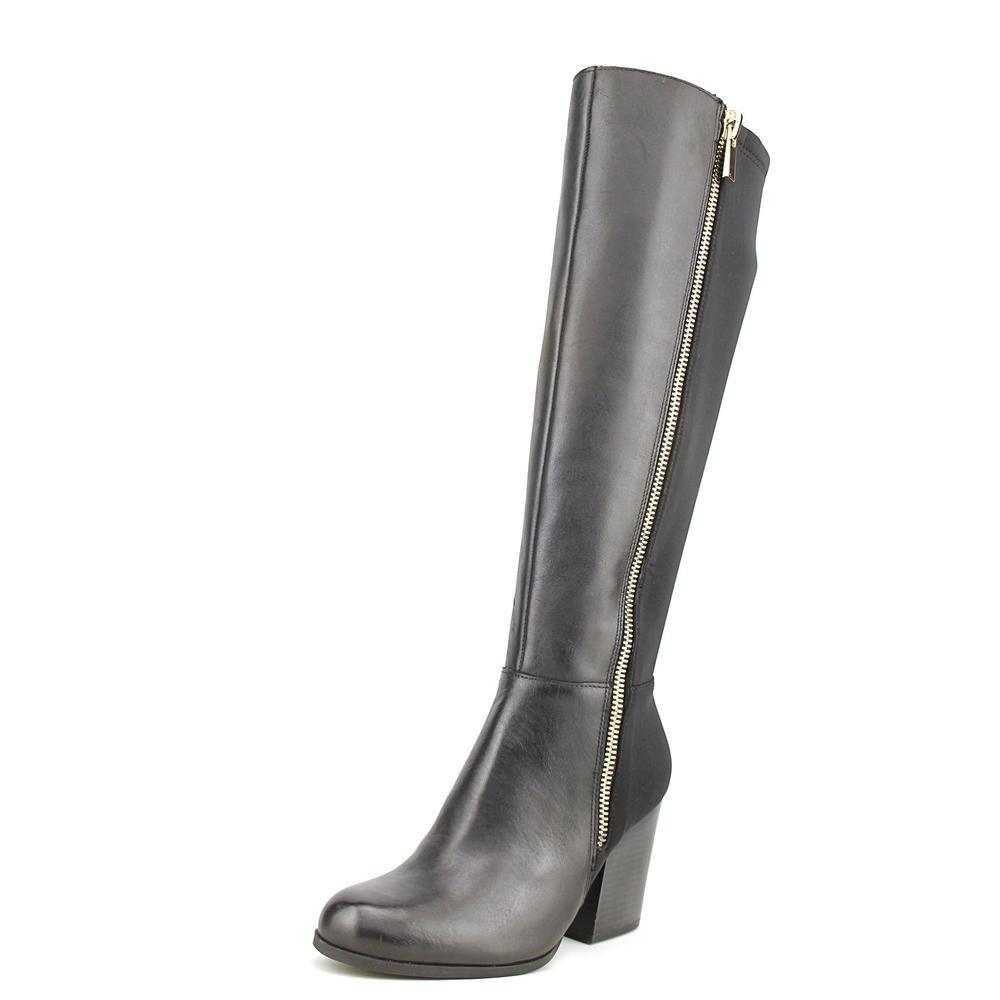 Giani Bernini Frauen Rozario Pumps rund Leder Fashion Stiefel Schwarz Groesse 6 US  37 EU