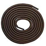6 Pairs Heavy Duty Durable Round Boot Laces Shoelaces Strings Replacements for Hiking Work Boots Shoes (60