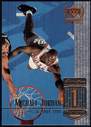 Basketball NBA 1999-00 Upper Deck Century Legends #1 Michael Jordan NM-MT+ Bulls (1999 Michael Jordan Upper Deck)